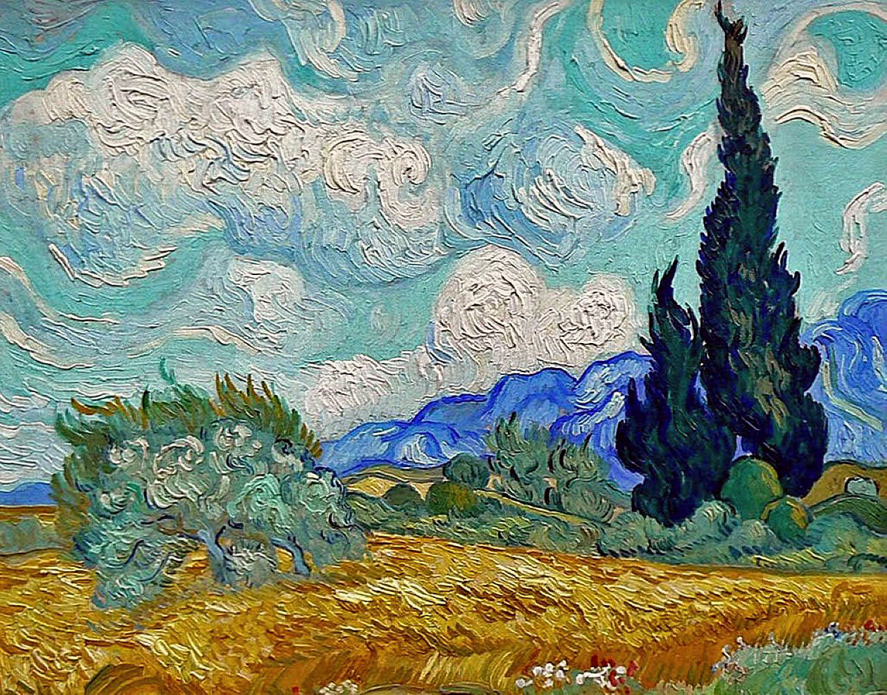 Amazoncom Touch the Art Make Van Goghs Bed